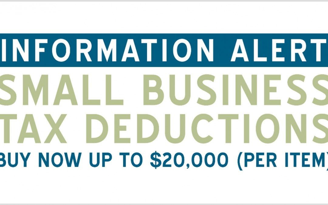 Small Business Tax Deductions 2015