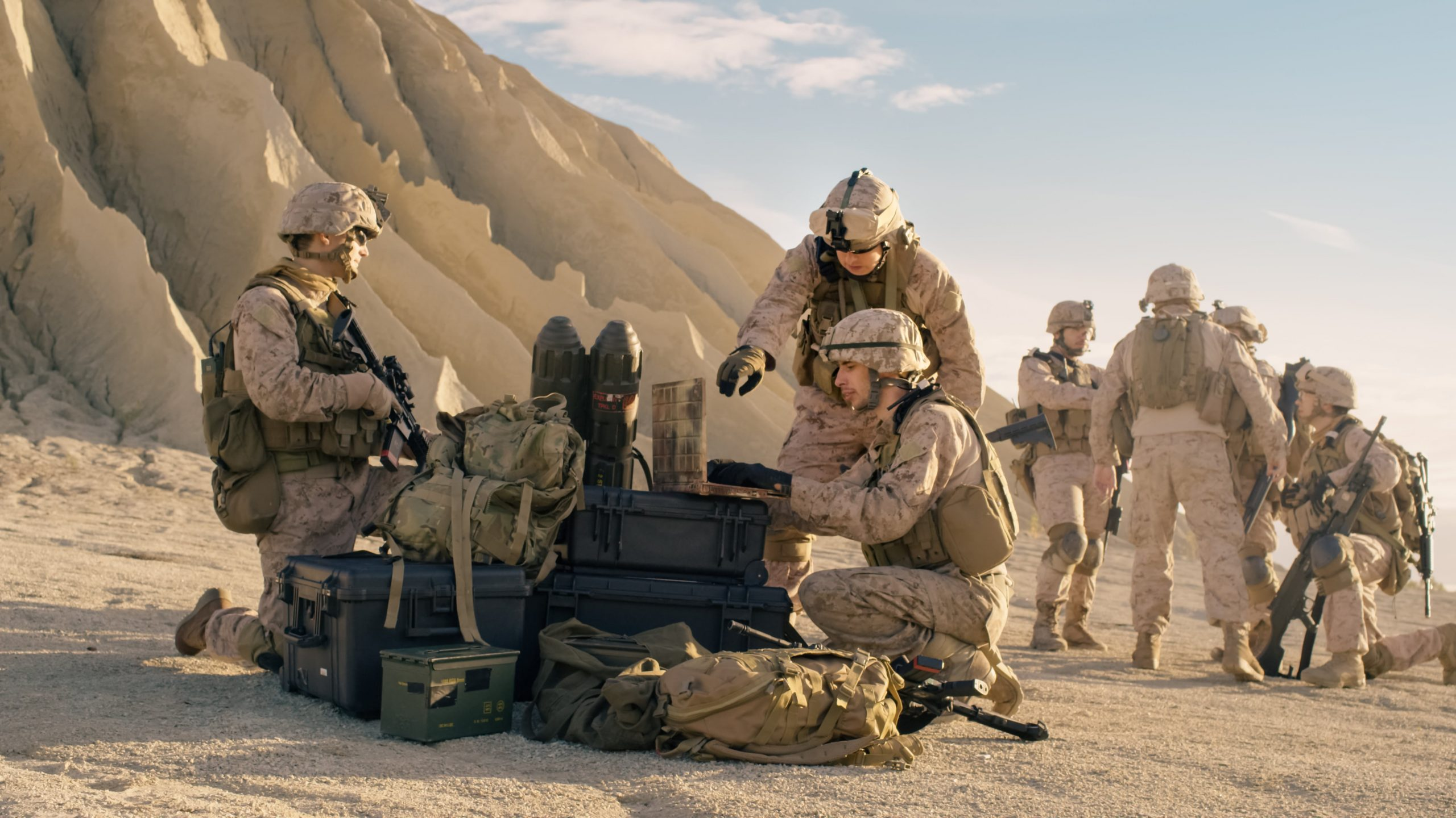 Military and Defence Forces Mobile and internet coverage solution Carlton Rising Connection 1
